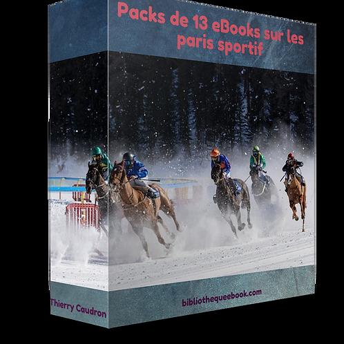 13 ebooks  (Turf, Paris Sportifs, Finance)PDF
