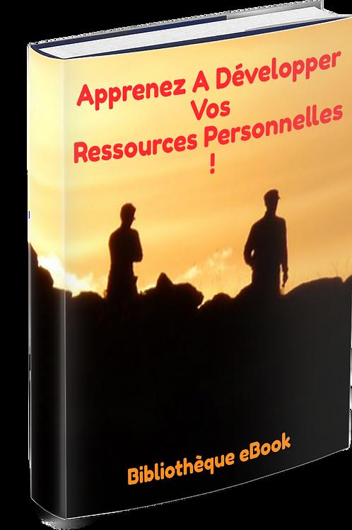 Apprenez à développer vos ressources personnelles (PDF)