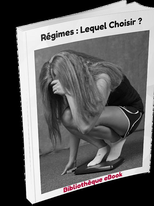 Régimes : Lequel Choisir ? (PDF DLP)
