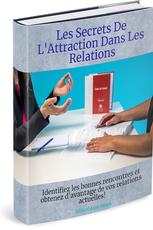 Les Secrets de l'Attraction Dans les Relations  (DRM PDF)