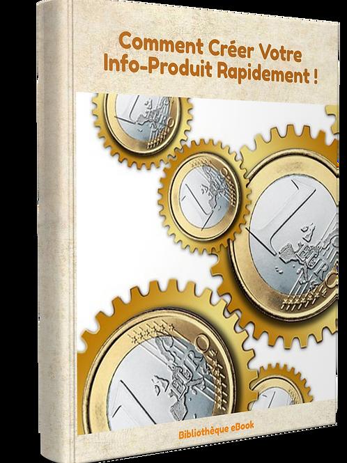 Comment Créer Votre Info-produit Rapidement.( PDF DRM)