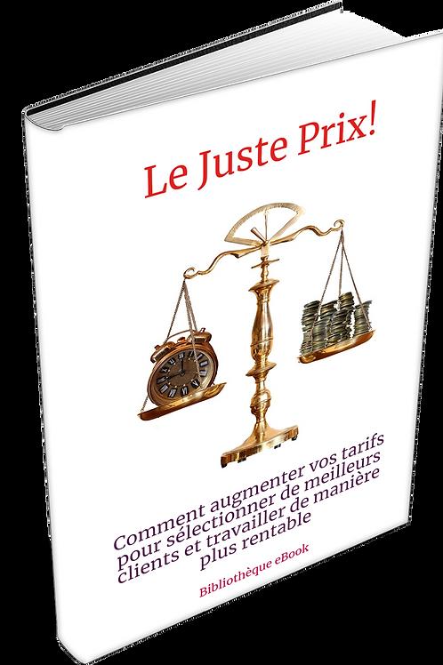 Le juste prix  (DRM PDF)
