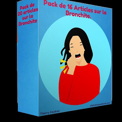 Pack de 16 articles sur la bronchite (PDF)