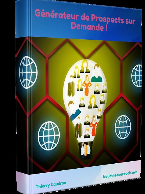 Générateur de prospects sur demande (PDF)