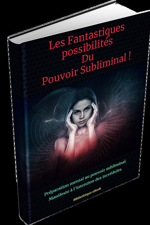 Les fantastiques possibilités du pouvoir subliminal (DRM PDF)