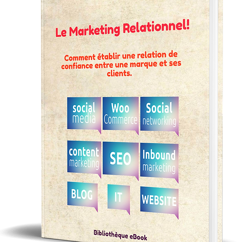 Le marketing relationnel  (DRM PDF)
