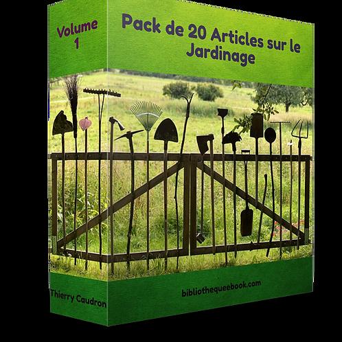 Pack de 20 article sur le jardinage. (PDF DLP)
