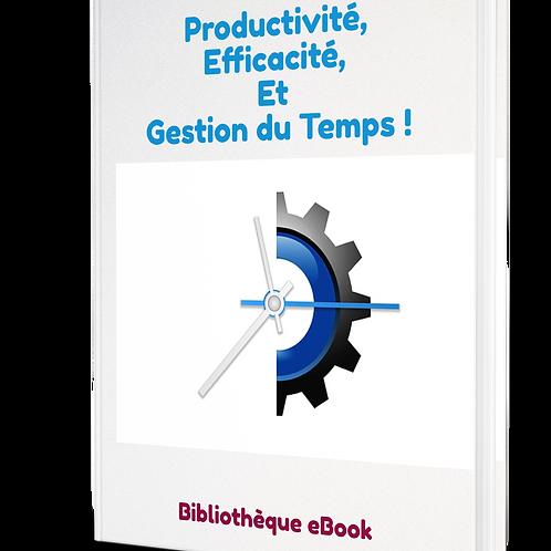 Productivité, Efficacité, Gestion du temps (PDF DRM)