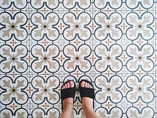Tile floor; Clemens carpet, Scottsbluff NE