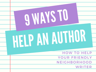 9 Ways to Help an Author