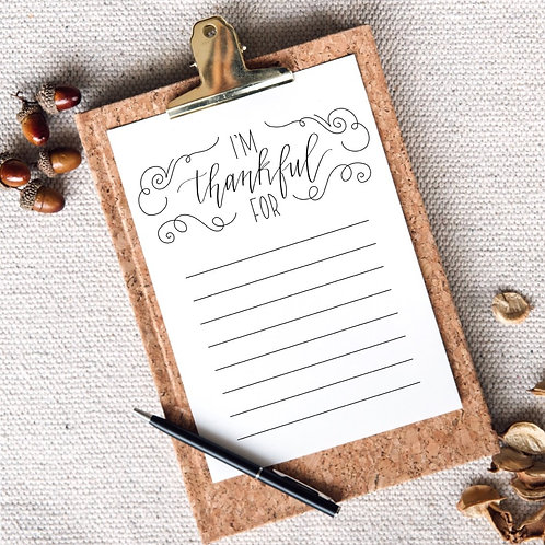Thankful Print- FREE DOWNLOAD