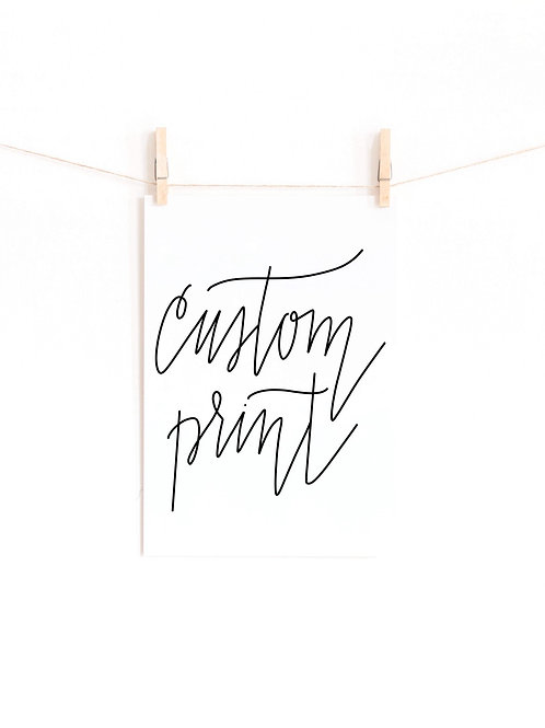 Custom Print (PDF file)