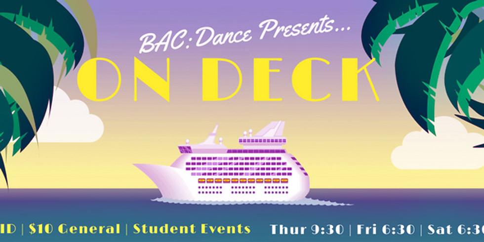 BAC Presents: On Deck