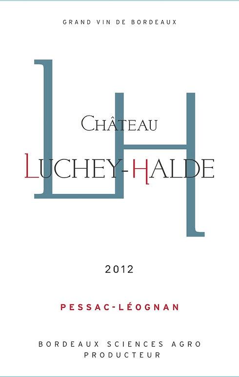 Chateau Luchey Halde rouge front 2012.jpg