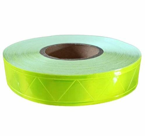 ref2 Cinta reflejante PVC Microprismatica para costura R/50 mtos