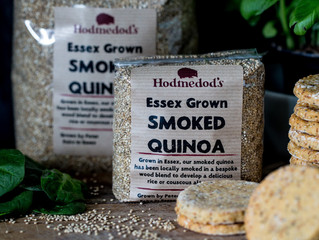 Smoked Quinoa Crackers