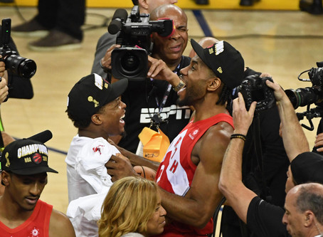 The Raptors Curse on Golden State