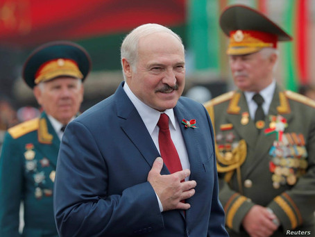 Belarus screwed up their elections before it was cool