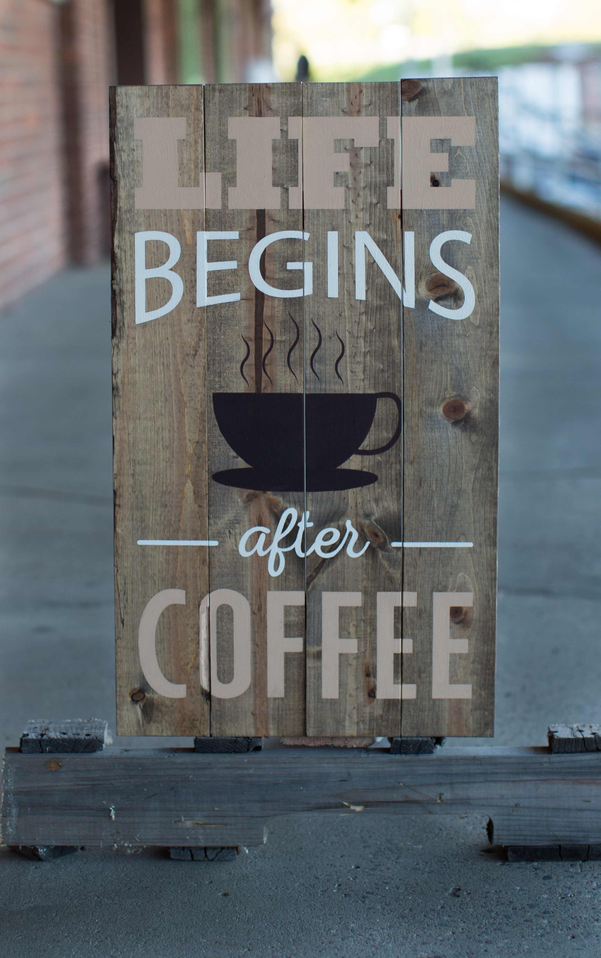 37) Life Begins After Coffee