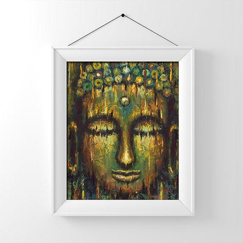 Buddha #1 Glossy Photo Print