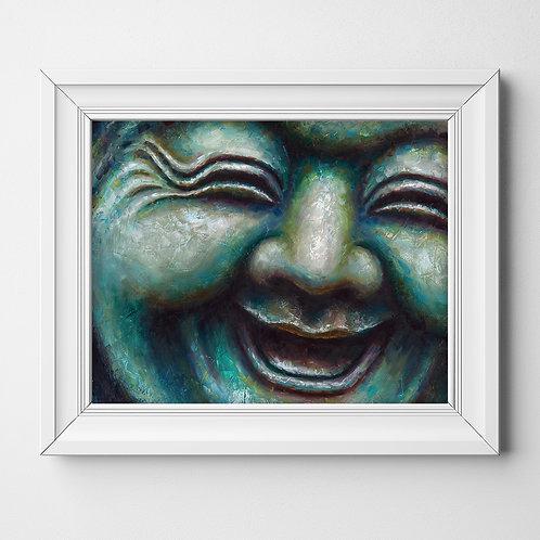 Buddha #9 Glossy Photo Print