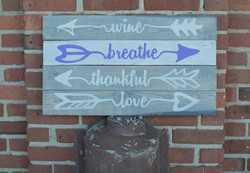 39) Breathe, Wine, Thankful, Love