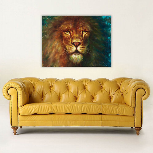 "30"" x 22"" King Giclee Canvas Print"