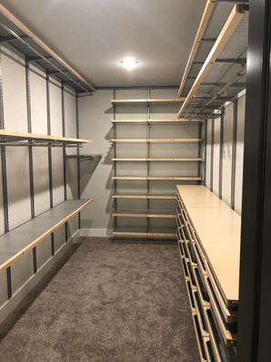 Iowa Colony Primary Closet - After