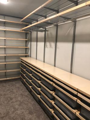 IIowa Colony Primary Closet - After