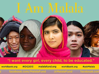 10% of Profits to Support the Malala Fund.