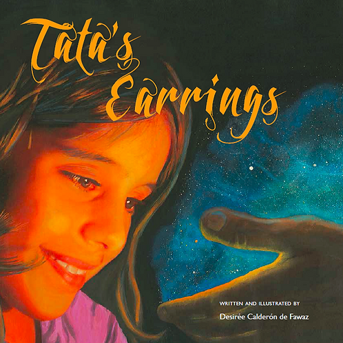 Tata's Earrings (signed by author)