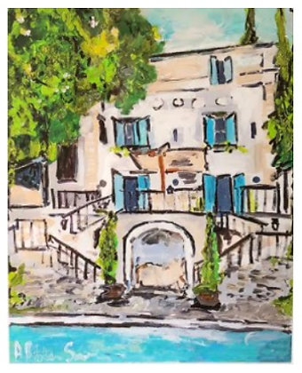 Limited Villa Art Print