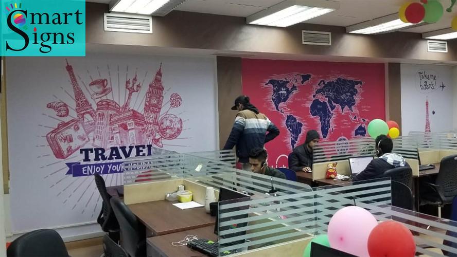 Rehlat offices Wall Vinyl
