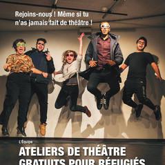 Ateliers de théâtre pour refugiés