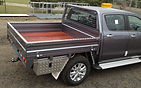 Steel ute tray tounge groove
