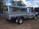Steel ute tray body