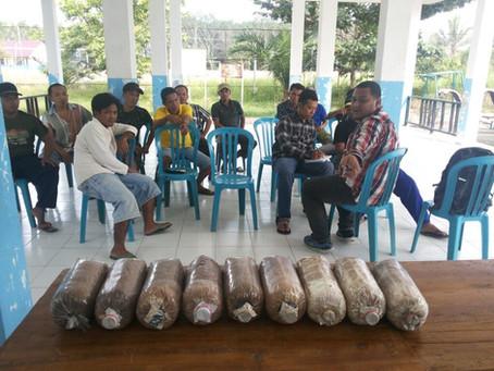 Pelatihan Budidaya Jamur dari PGN