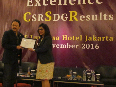 Seminar Building Business Excellence CSR SDG Result