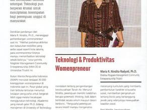 Teknologi dan Produktivitas Womenpreneur on Market+