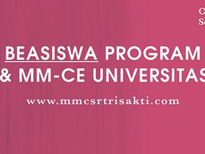 Beasiswa MM-CSR Universitas Trisakti - April 2016