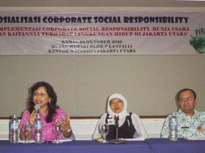 Sosialisasi CSR Bagi Dunia Usaha di Sepanjang Pesisir Jakarta Utara
