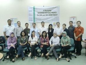 Workshop CSR dan ISO 26000