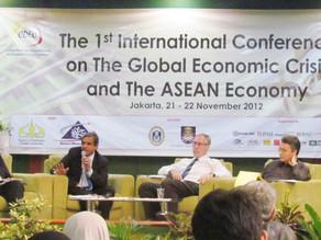 MM-CSR Universitas Trisakti mensponsori kegiatan The 1st International Conference on The Global Econ