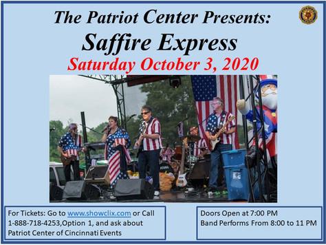 Saffire Express @ the Patriot Center