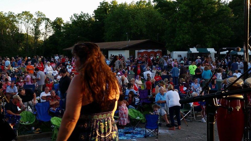 Kuliga Park Fireworks 7-3-14