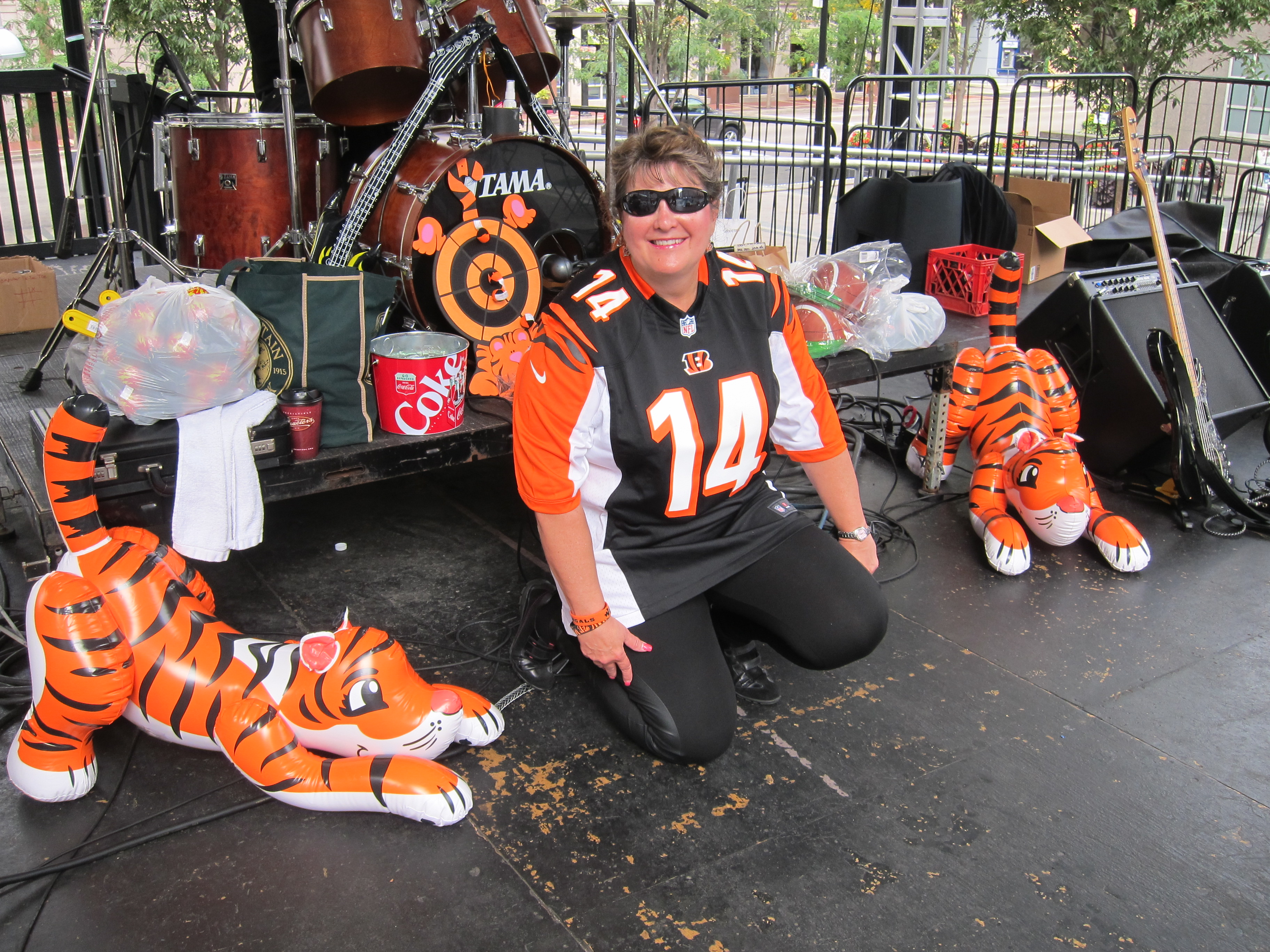 Bengal's Tailgate Party 10-27-15
