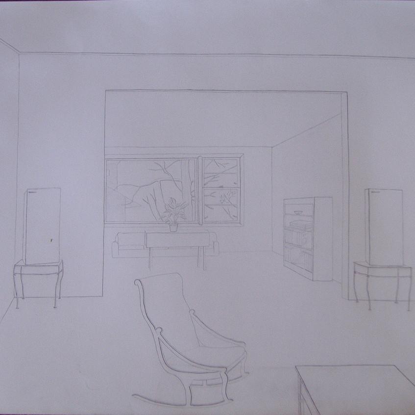 Easthampton living room