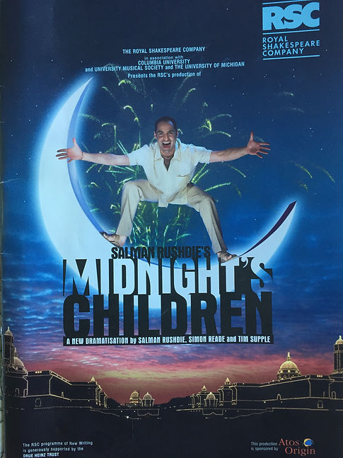 """Midnight's Children"""", the play, by the Royal Shakespeare"""