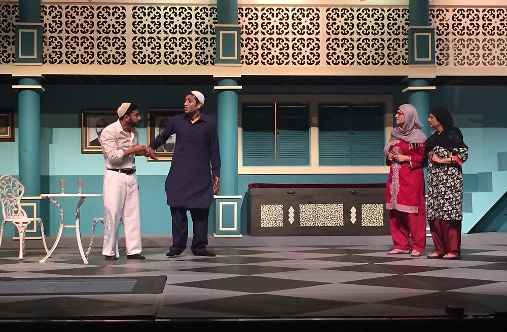 Dr. Luqman, Zaafar, Mehar and Ayesha