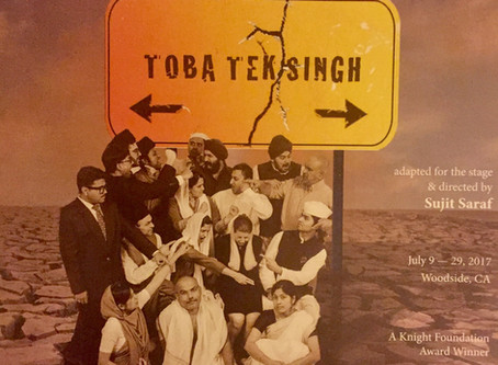 """Toba Tek Singh"", a play by Naatak theater company"